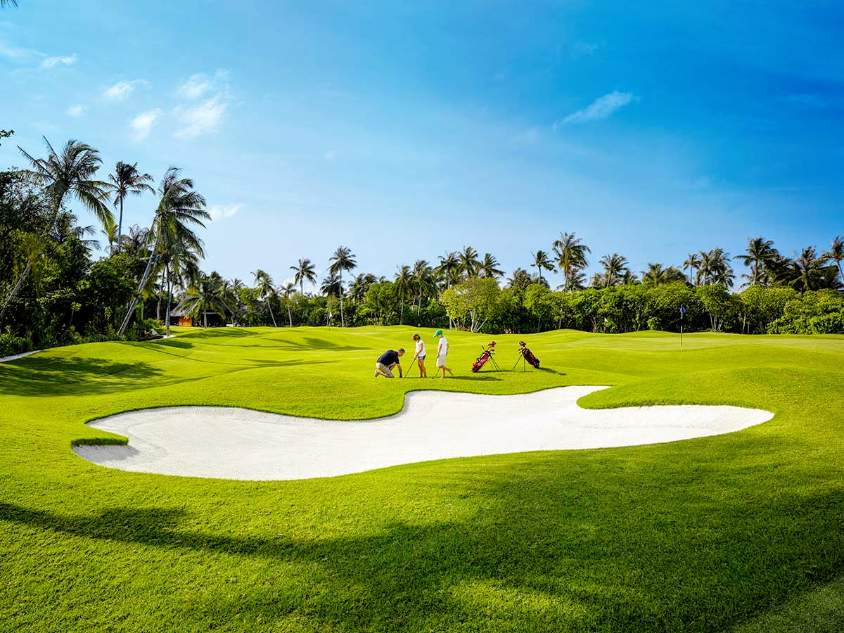 Velaa Golf Academy by Olazabal, Velaa Private Island