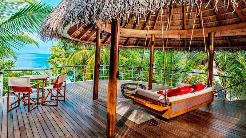 Upper Deck, Wonderful Beach Oasis, W Retreat & Spa Maldives