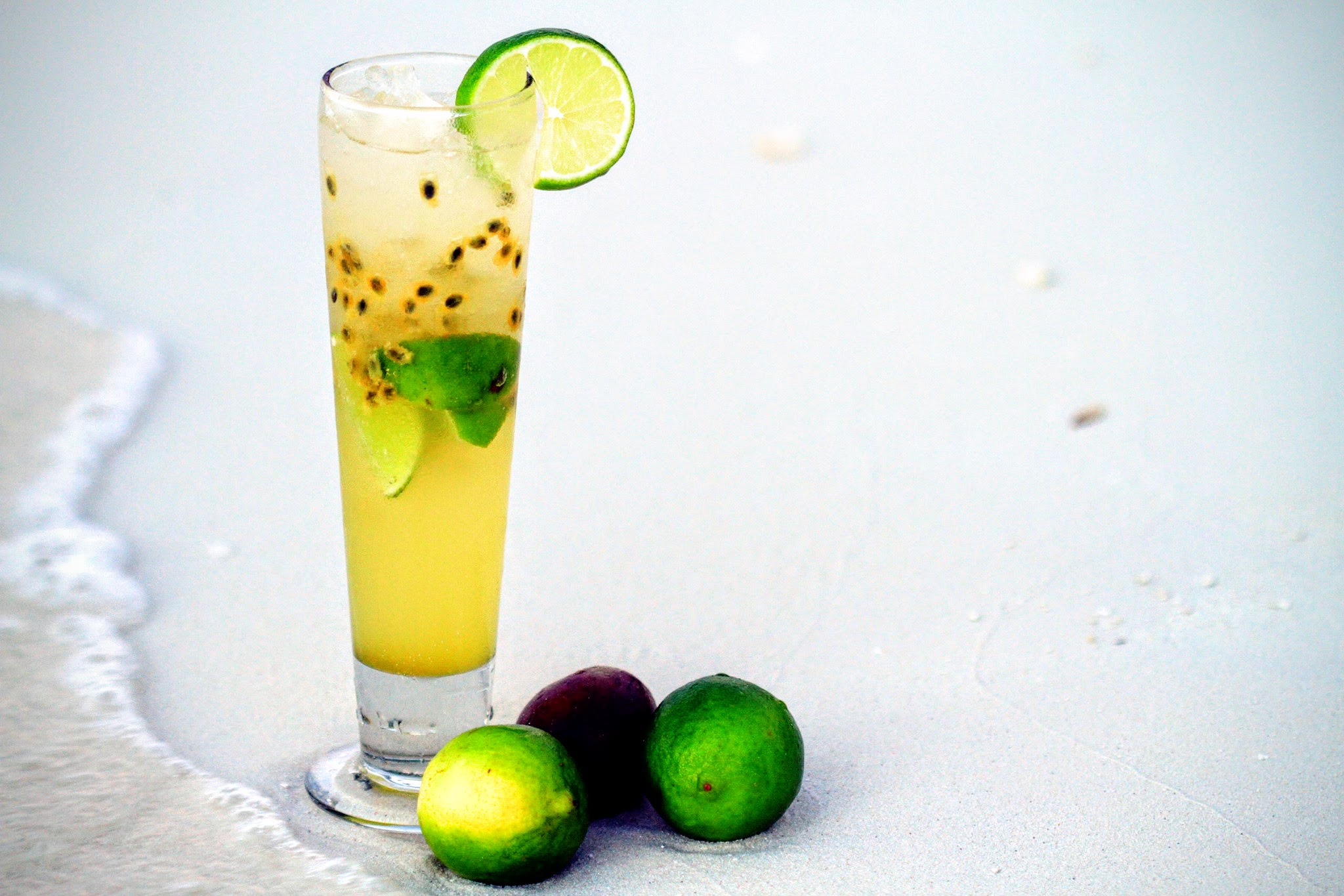 passion fruit cocktail, kurumba maldives