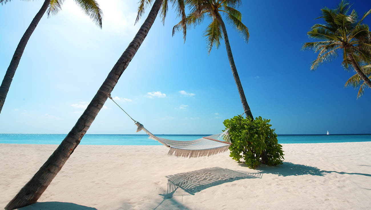 Orivaru Resort and Spa - hammock at beach