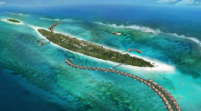 Aerial View, The Residence Maldives