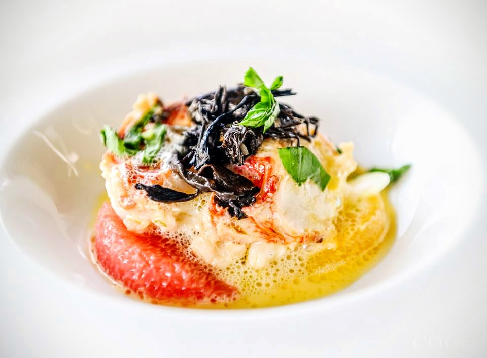 Warm Lobster Salad, Basil, Citrus, Champagne Dressing, Chef Nigel Haworth, Savour 2015