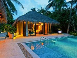 Beach Pool Villa, Velaa Private Island Maldives