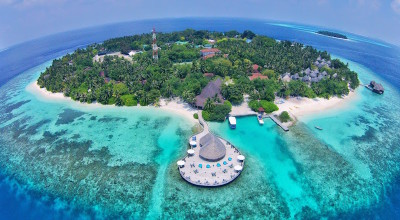 Aerial view, Bandos Island Resort & Spa