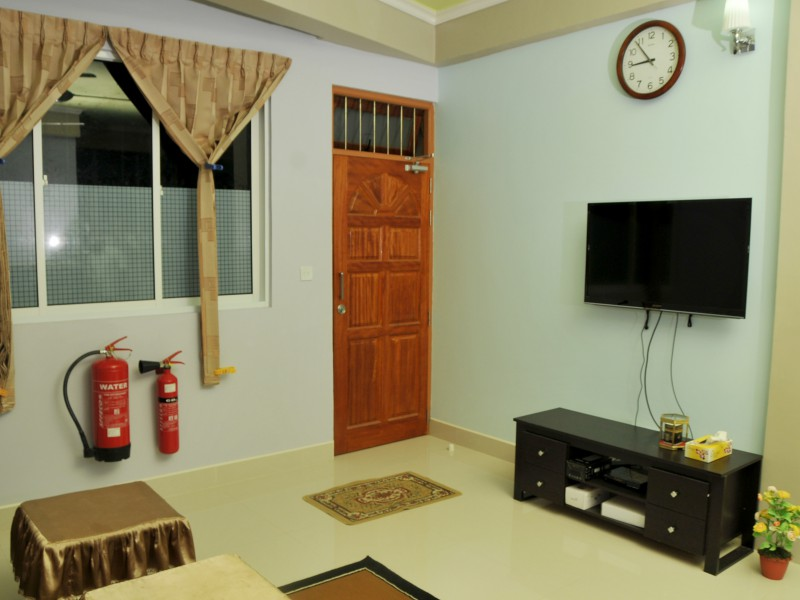 Common area -Naifaru Nafaa Inn