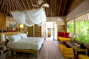 Lagoon Beach Villa, Six Senses Laamu