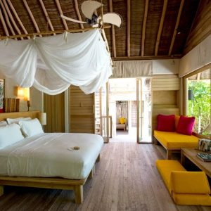 Lagoon Beach Villa, Six Senses Laamu Maldives