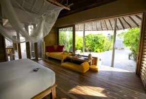 Lagoon Beach Villa with Pool, Six Senses Laamu