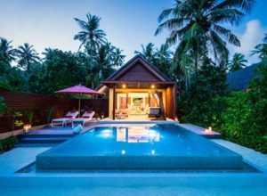 Beach Pool Villa, Niyama Private Islands Maldives