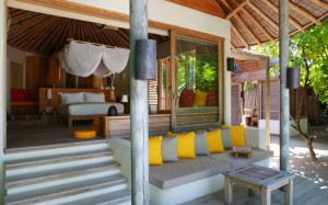 Ocean Beach Villa, Six Senses Laamu Maldives