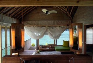 Ocean Water Villa, Six Senses Laamu
