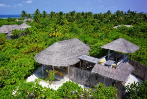 Ocean Beach Villa with Pool, Six Senses Laamu Maldives