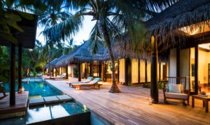 Three Bedroom Beach Pool Residence, Anantara Kihavah Maldives Villas