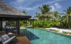 Two Bedroom Beach Pool Residence, Anantara Kihavah Maldives Villas
