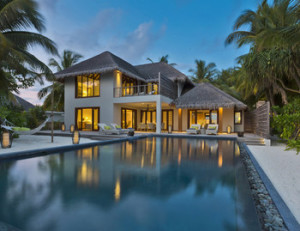 Two-Bedroom Beach Residence, Dusit Thani Maldives
