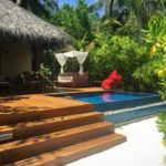 baros maldives beach villa with pool