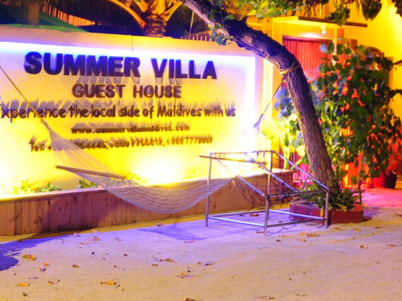 Summer Villa outside