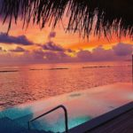 velaa private island sunset pool