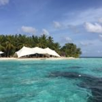 W maldives beach