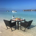 W maldives beach dine