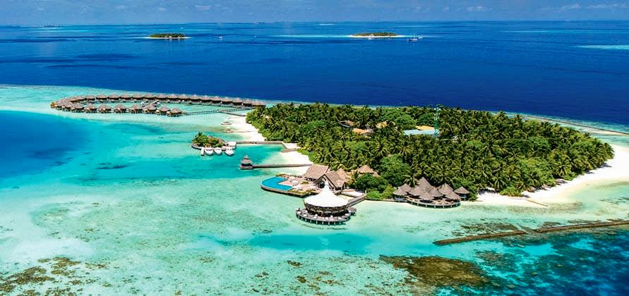 Aerial View,, Baros Maldives