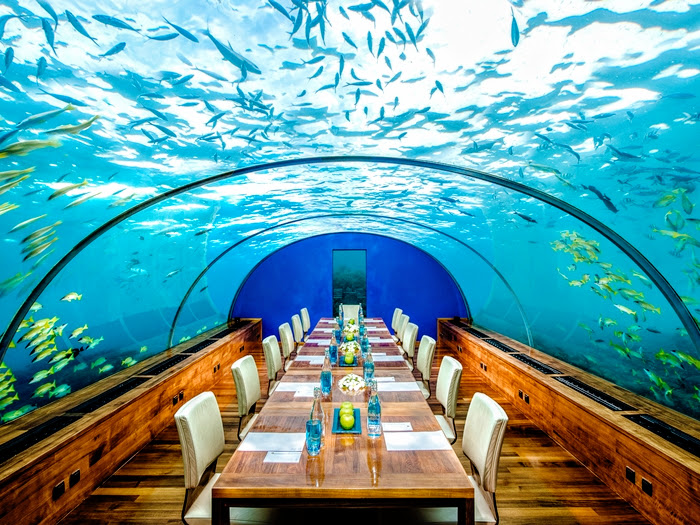 Boardroom meeting, Conrad Maldives Rangali Island