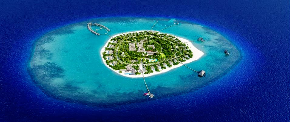 Aerial view, Velaa Private Island Maldives