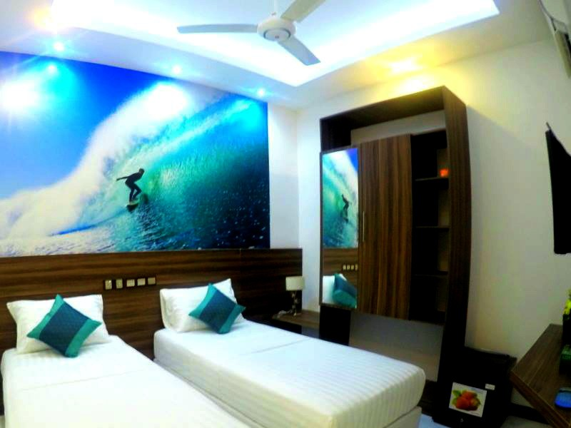 Canopus Retreats Thulusdhoo - Twin Room