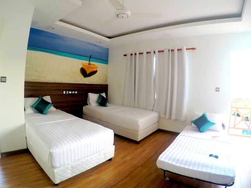 Family Deluxe Room — at Canopus Retreat Thulusdhoo.
