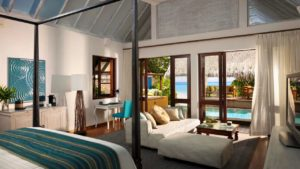 Beach Bungalow with Pool, Four Seasons Resort Maldives at Landaa Giraavaru