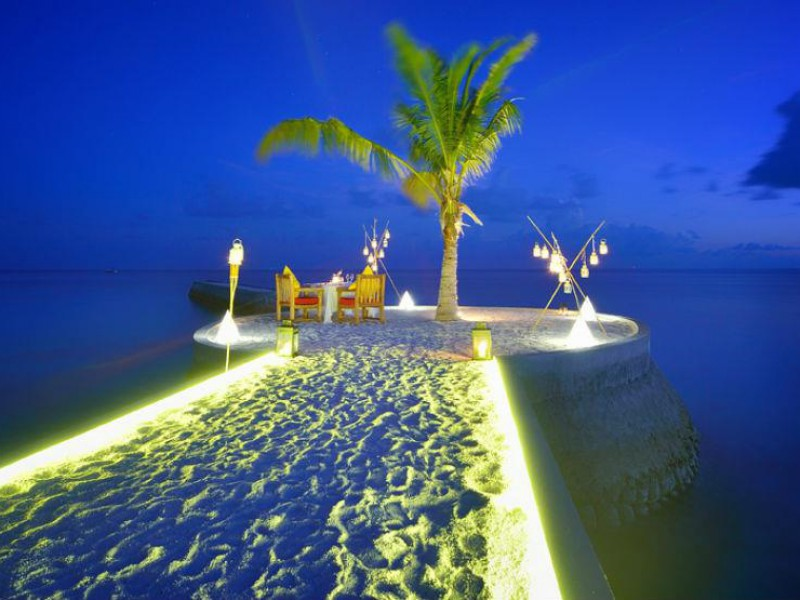 Romantic Dinner, Jumeirah Vittaveli