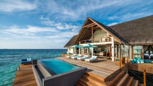 Sunrise Two Bedroom Water Suite, Four Seasons Resort Maldives at Landaa Giraavaru