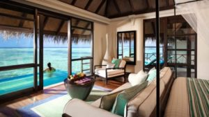Sunrise Water Bungalow with Pool, Four Seasons Resort Maldives at Kuda Huraa