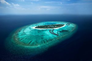 Aerial view, The Sun Siyam Iru Fushi Maldives