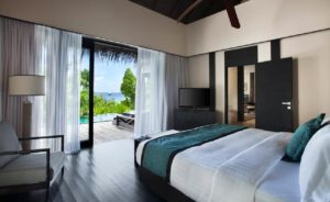 2 Bedroom Beach Pool Villa, Outrigger Konotta Maldives Resort