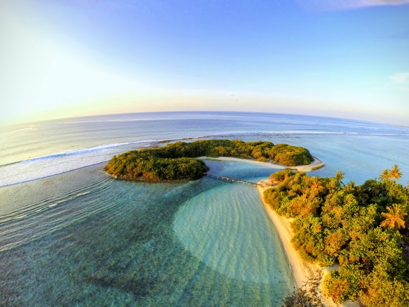 Aerial view of Thulusdhoo – Photo by Ahmed Riyazi Mohamed