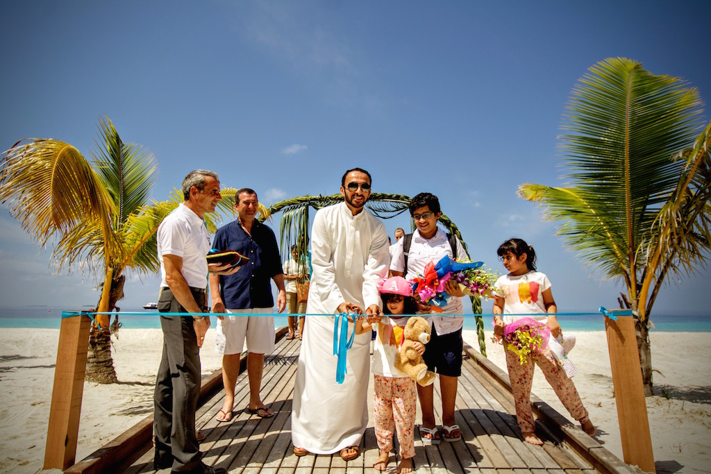 Outrigger Konotta Maldives Resort's first guests