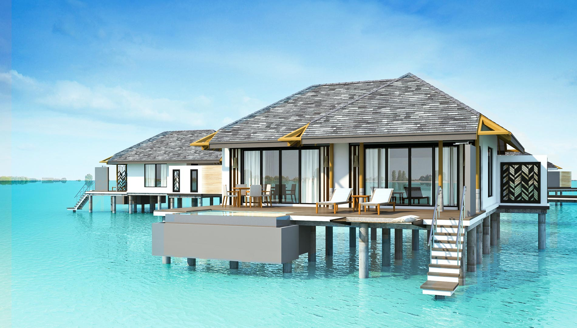 Amari havodda now open for stays from early 2016 for Villas with pools