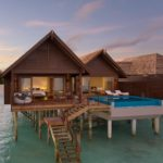 hideaway beach maldives over water villa