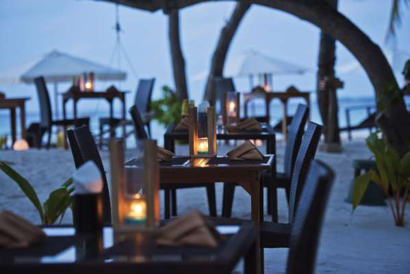 Beach Dining, Arena Beach Maldives