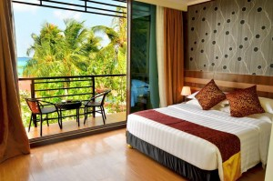 Deluxe Double Room with Balcony & Sea View - Arena Beach