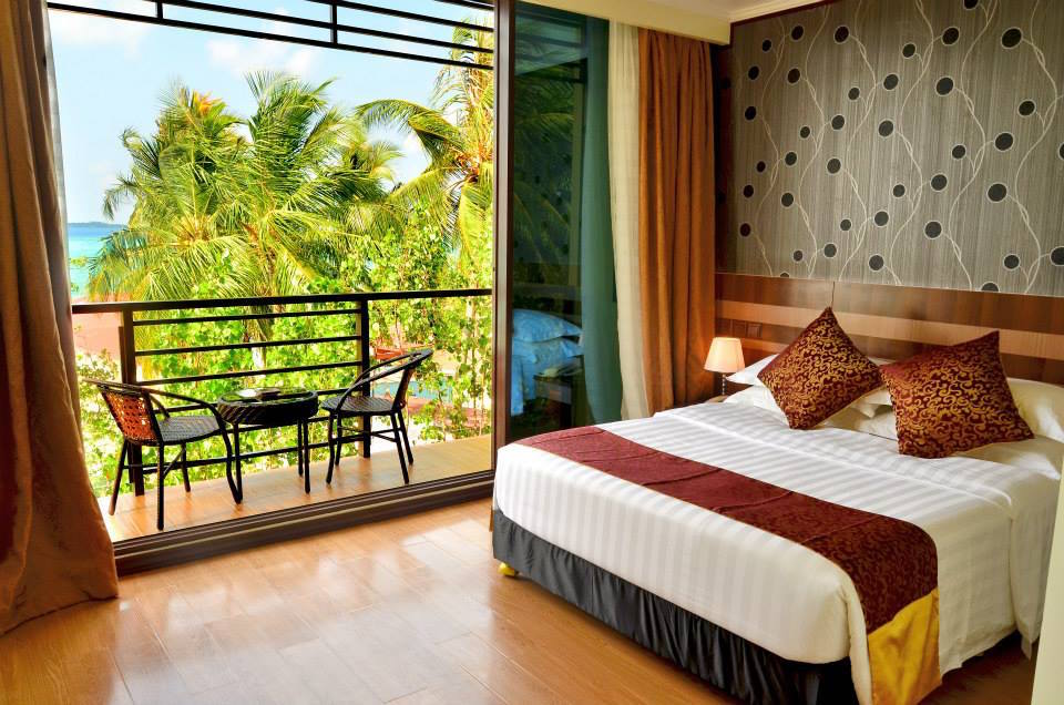 Deluxe Double Room With Balcony Sea View Arena Beach