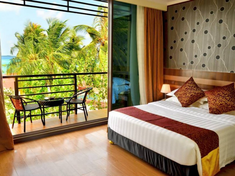 Deluxe Double Room with Balcony & Sea View - Arena Beach Hotel