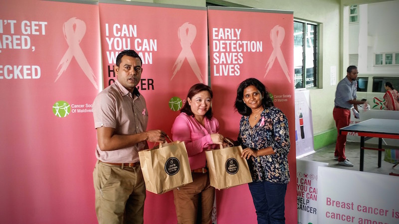 October Fest with Cancer awareness, Hotel Jen Malé Maldives
