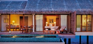 Deluxe Water Pool Villa, The Residence Maldives