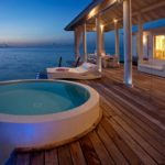 Two bedroom water villa jacuzzi