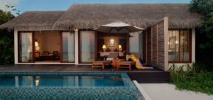Beach Pool Villa, The Residence Maldives