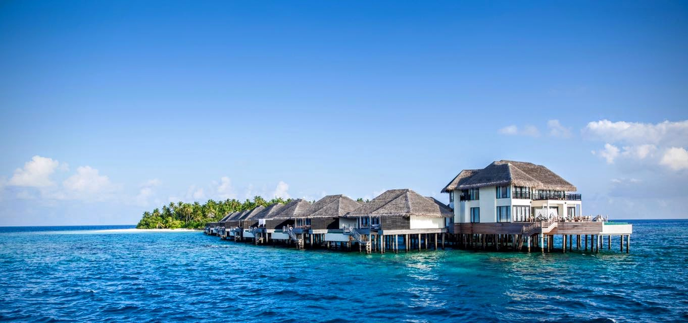 Overwater Pool Villas, Outrigger Konotta Maldives Resort