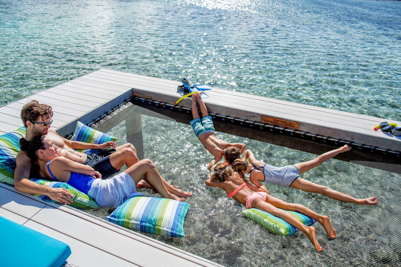 water hammock 28 images floating water hammock drool d pools photo of the day water villas. Black Bedroom Furniture Sets. Home Design Ideas