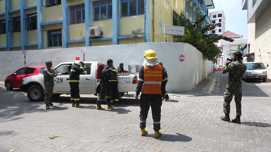 Hotel Jen Malé Maldives carries out a great Fire evacuation drill